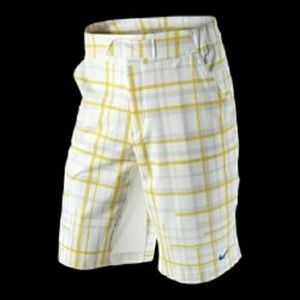 Nike Rush & Crush plaid Dri-FIT tennis shorts